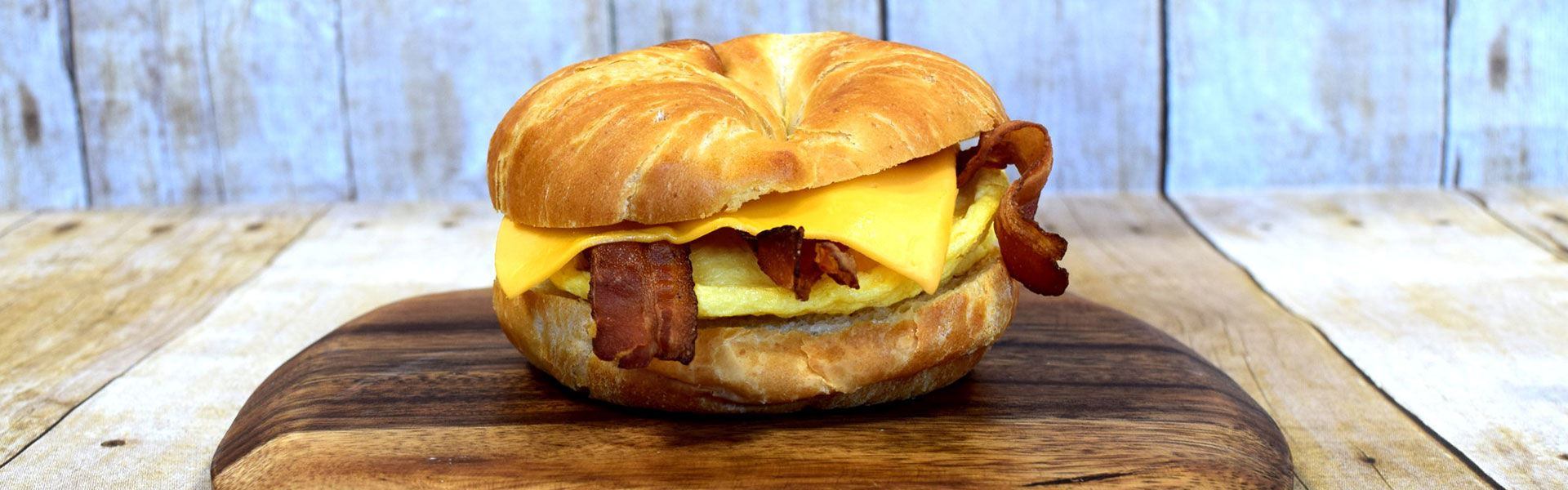 Cliff's Local Market breakfast sandwich