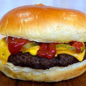 Cliff's Local Market cheeseburger