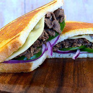 Cliff's Local Market Cheesesteak sandwich