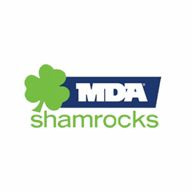 MDA Shamrocks Logo